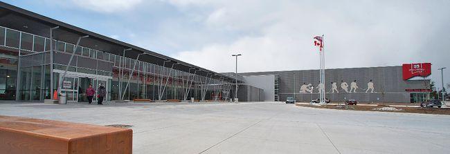 The Wayne Gretzky Sports Centre Time Line Brantford Expositor