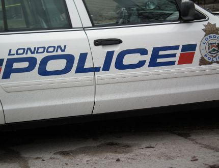 London police cruiser (Free Press file photo)