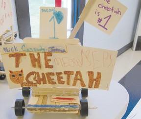 An Education Week project  winner was The Cheetah.
