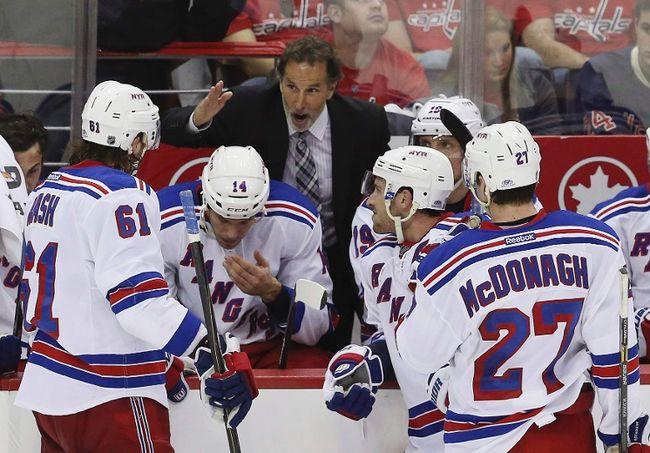 New York Rangers coach John Tortorella. (GARY CAMERON/Reuters)