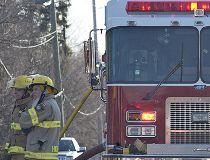Fire truck pumper rescue