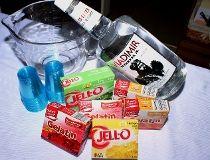 Jell-O shot supplies
