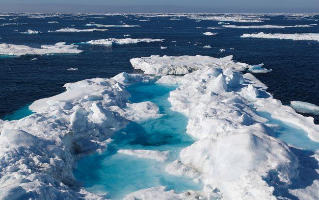 Sea ice in Nunavut. (Fotolia)