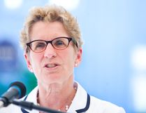 Premier Kathleen Wynne.