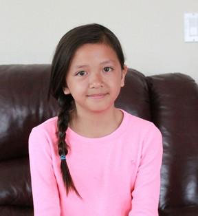 Mai Pham, 10, hopes to sing professionally and loves to be on stage. Celia Ste Croix | Whitecourt Star