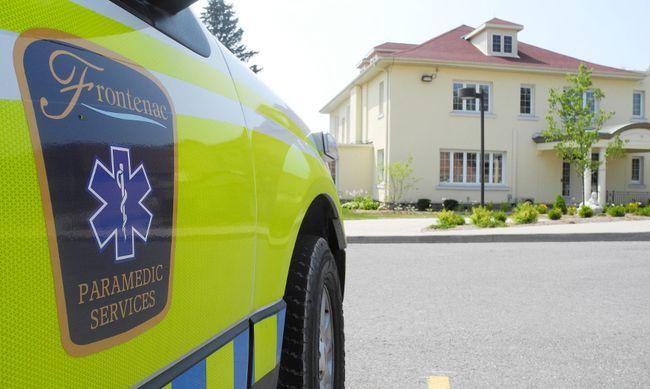Frontenac County ambulance. Elliot Ferguson The Whig-Standard