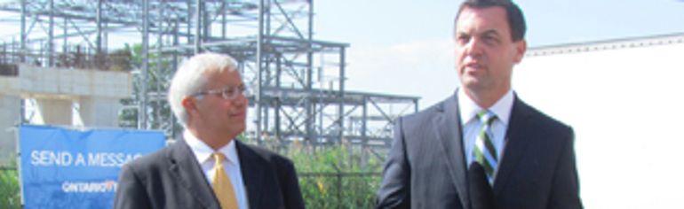 Vic Fedeli and Tim Hudak. QMI file photo