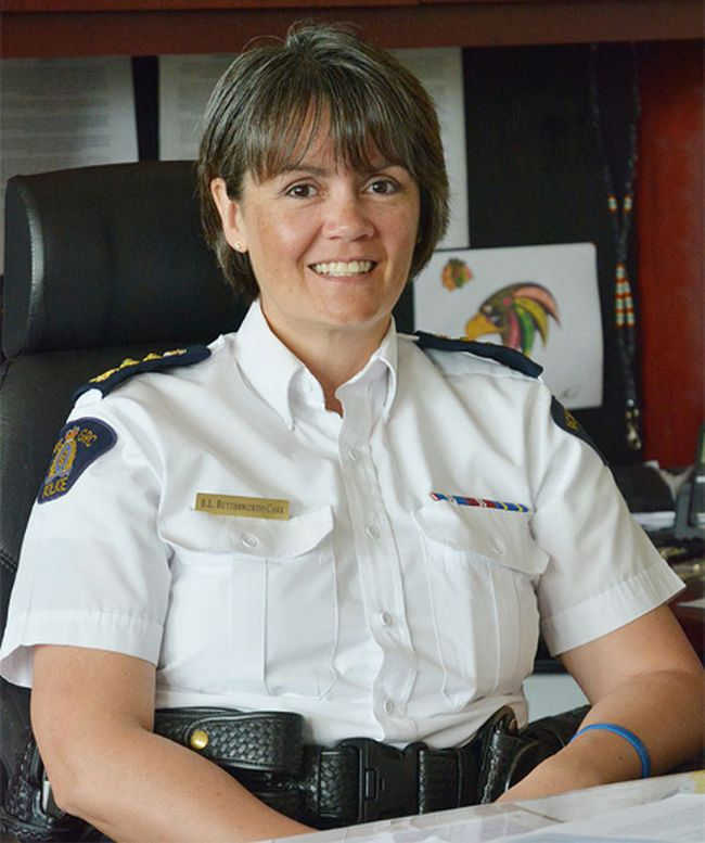 Chief-Supt. Brenda Butterworth-Carr took on the job of Saskatchewan RCMP commanding officer on Thursday. (RCMP Handout)
