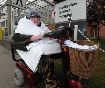 Heartless Thief Swipes Calgary Patient S Ipad Outside