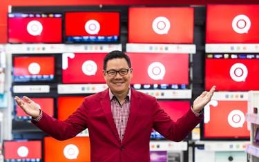 Target Canada Senior VP of Merchandising John Morioka leads a media preview tour of there store at Billings Bridge Plaza in Ottawa. The store is opening on September 17th. September 16,2013. Errol McGihon/Ottawa Sun/QMI Agency