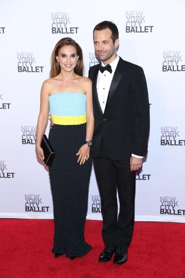 "Natalie Portman and husband Benjamin Millepied. (<A HREF=""http://www.wenn.com"" TARGET=""newwindow"">WENN.COM</a>)"