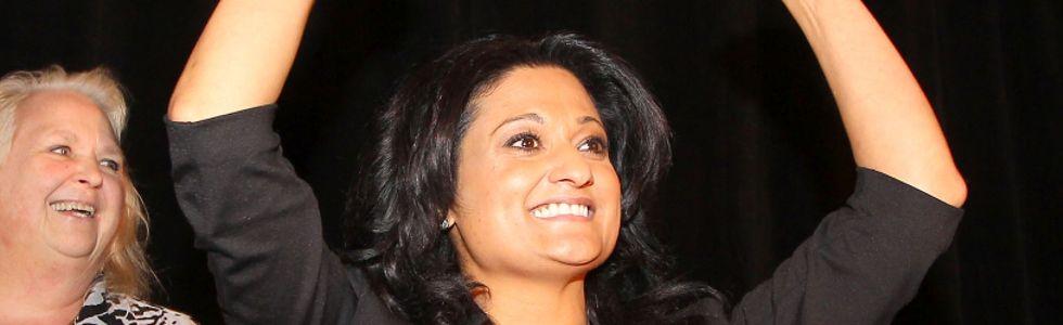 Rana Bokhari won the Manitoba Liberal leadership Oct. 26.