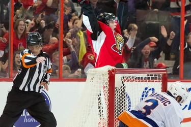 Senators right wing Bobby Ryan (6) 13 games played 7-7-14 Marc DesRosiers-USA TODAY Sports