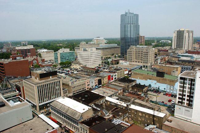 Downtown London (file photo)