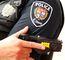 Ottawa police officer demonstrates Taser