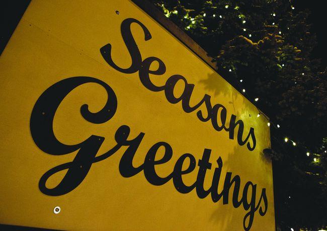 Season's Greetings (BROOK JONES/SELKIRK JOURNAL/QMI AGENCY)