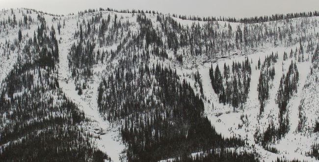 Mountain near Sparwood, B.C. (AL CHAREST/QMI AGENCY)