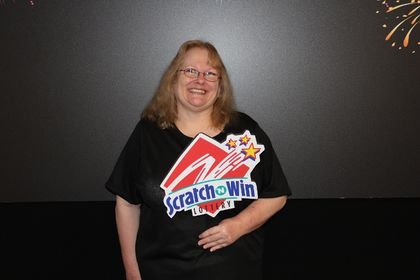 Sandra vince lottery winner
