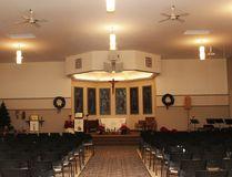 KEVIN RUSHWORTH HIGH RIVER TIMES/QMI AGENCY. St. Francis de Sales Catholic Church sanctuary.
