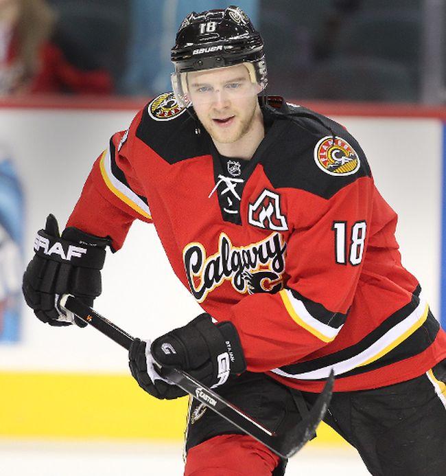 Matt Stajan. Photo by Al Charest/Calgary Sun