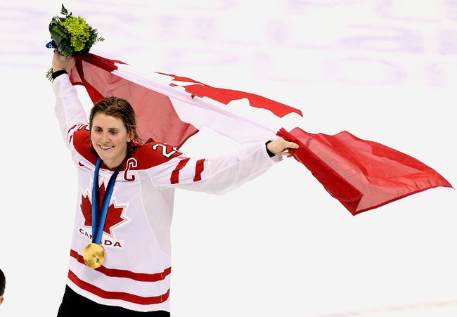 Hayley Wickenheiser - 2010 Vancouver Games