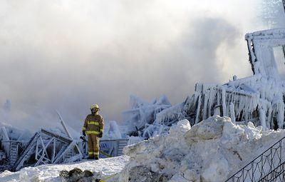 The tragic fire in a residence for seniors in L'Isle-Verte resonates throughout Quebec, Thursday, January 23, 2014. STEVENS LEBLANC / QMI AGENCY