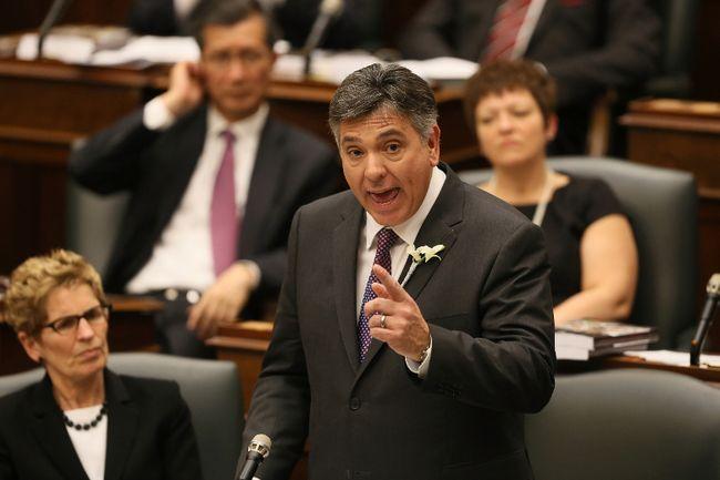 Ontario Finance Minister Charles Sousa. (STAN BEHAL/TORONTO SUN)
