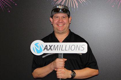 Dean Banman $1 million Lotto Max winner