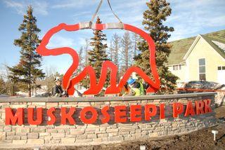New Look For Muskoseepi Park Entrance Daily Herald Tribune
