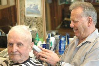 Classic barbershop   Hinton Parklander