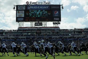 ALLTEL STADIUM (now EverBank Stadium) Super Bowl XXXIX (2005) Jacksonville, Fla. (Photo: AFP)