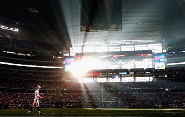 COWBOYS STADIUM (now AT&T; Stadium) Super Bowl XLV (2011) Arlington, Texas (Photo: AFP)
