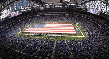 FORD FIELD Super Bowl XL (2006) Detroit, Mi. (Photo: AFP)