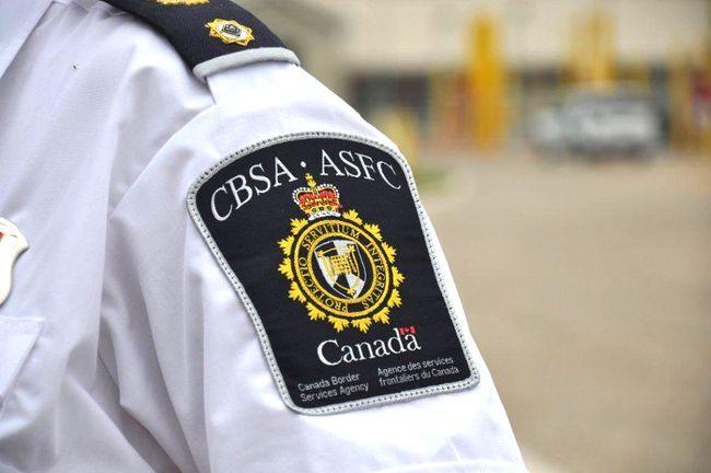 Canada Border Services Agency.