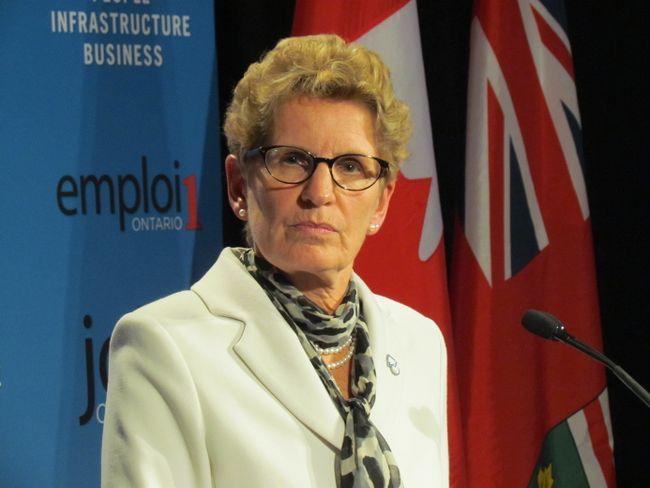 Ontario Premier Kathleen Wynne at Queen's Park Tuesday, Jan. 28, 2014. (ANTONELLA ARTUSO/Toronto Sun)