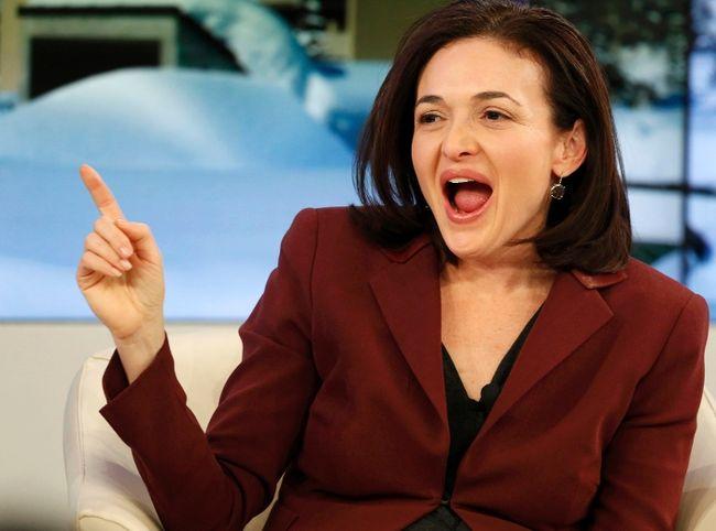 Facebook COO Sheryl Sandberg. REUTERS/Ruben Sprich