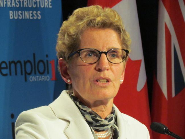 Premier Kathleen Wynne at Queen's Park Jan. 29, 2014. (ANTONELLA ARTUSO/Toronto Sun)