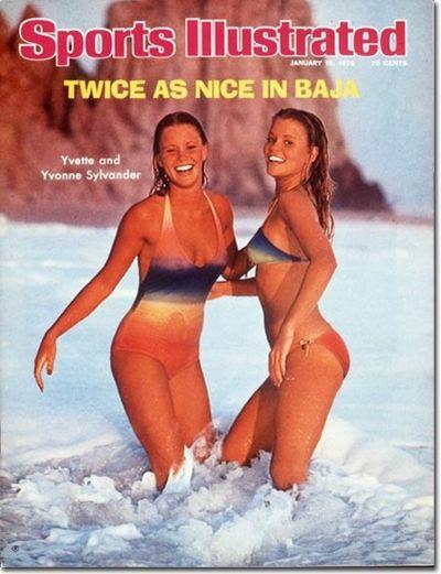 <p>Year: 1976</p>  <p>Models: Yvette and Yvonne Sylvander</p>