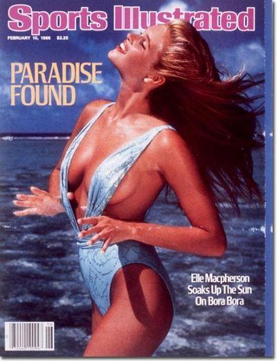 <p>Year: 1986</p>  <p>Model: Elle Macpherson</p>