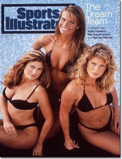 <p>Year: 1994</p>  <p>Model: Kathy Ireland, Elle Macpherson, Rachel Hunter</p>