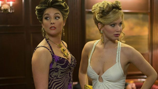 Elisabeth Röhm and Jennifer Lawrence in American Hustle. (Atlas Entertainment)