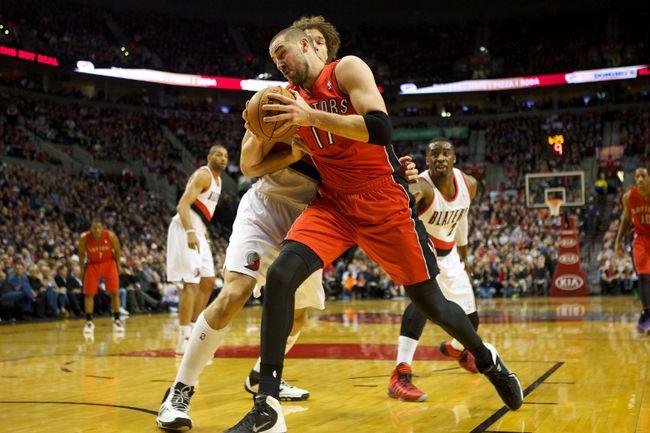 NBA: Toronto Raptors at Portland Trail Blazers