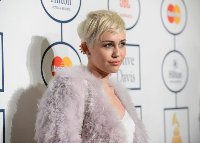 Miley Cyrus. REUTERS/Phil McCarten