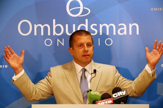 Ontario ombudsman Andre Marin. (Michael Peake/Toronto Sun)