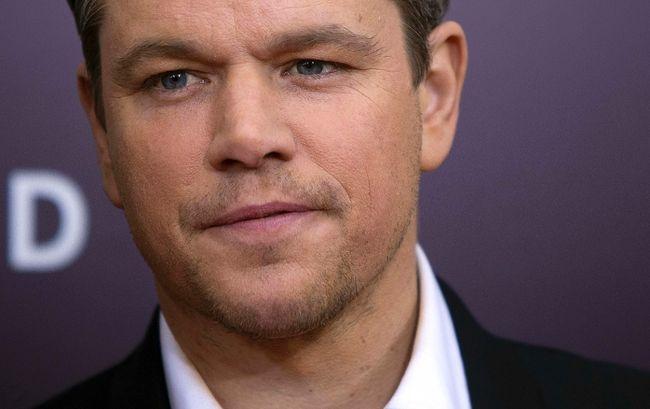 Matt Damon.  REUTERS/Carlo Allegri
