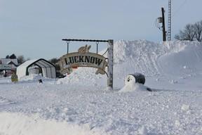 lucknow snow