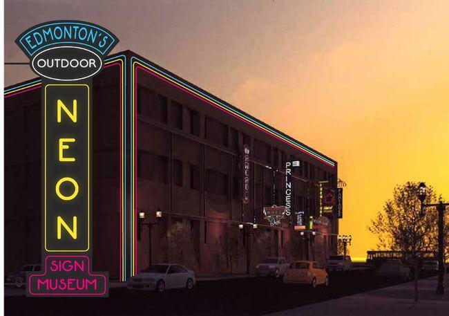 edmonton neon museum set to open home toronto sun. Black Bedroom Furniture Sets. Home Design Ideas