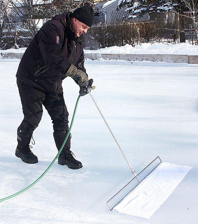 backyard rink relief the belleville intelligencer