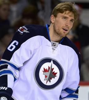 Winnipeg Jets forward Blake Wheeler. (FILE PHOTO)