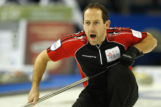 Brent Laing, partner of Team Canada curler Jennifer Jones, is in Sochi to support her during the Olympics. (IAN KUCERAK/QMI Agency)
